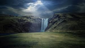 waterfall landscape 4k ultra hd