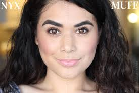 make up for ever ultra hd vs nyx hd