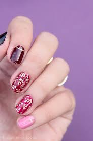 elegant autumn nail art step by step