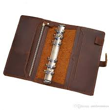 2020 genuine leather binder notebook a5