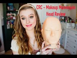 crc makeup practice head mask set