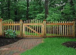 Pin By Mike Turner On Fencing Arbor Ideas Fence Design Wood Picket Fence Diy Garden Fence