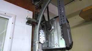 side mount garage door opener jackshaft