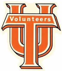 University Of Tennessee Volunteers Ut Football Vintage Looking Decal Sticker Ebay