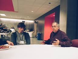 File:Adam D'Angelo and Steven Levy in 2011.jpg - Wikimedia Commons