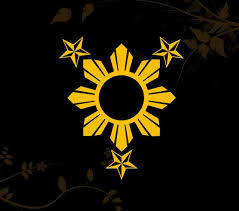 3 Stars And Sun Filipino Philippines Flag Decal For Your Car Walls Laptops Iphone Ipad And Water Bottles Filipino Tattoos Philippine Flag Flag Decal