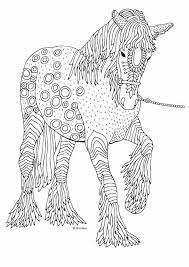 The Horse Illustration By Keiti Mandalas Para Colorear