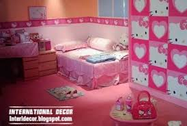 Top Kids Room Themes And Decorating Ideas Hello Kitty Bedroom Hello Kitty Bedroom Decor Girls Bedroom Sets
