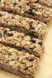 gluten free chewy granola bar recipe