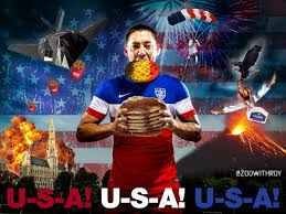 """Adam Peris on Twitter: """"""""@zoowithroy: HERE'S CLINT DEMPSEY ENJOYING SOME  BREAKFAST #USA #BEL #USAvsBEL http://t.co/qFT5xv2IhL"""" these never get old."""""""