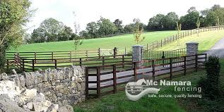 High Quality Pressure Creosoted Post Rail Mcnamara Fencing