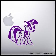 Twilight Sparkle My Little Pony Inspired Vinyl Car Laptop Decal Laptop Decal Personalized Decals Custom Vinyl