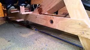 building a rowing machine you