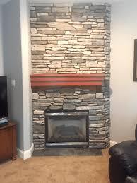 chimney masonry and pellet stove