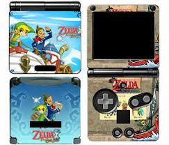 Zelda 120 Vinyl Decal Skin Protector Cover Sticker For Game Boy Advance Gba Sp 707948353105 Ebay