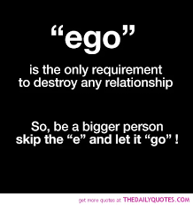 there is a very thin line between success and ego does success