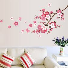 Cherry Blossom Flower Wall Decals American Wall Decals