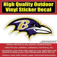 Baltimore Ravens Vinyl Car Window Laptop Bumper Sticker Decal Colorado Sticker
