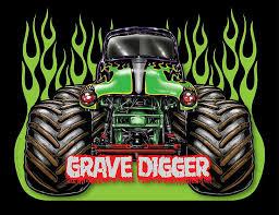 digger monster truck 4x4 race