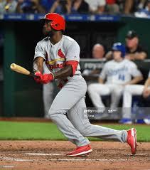 Randy Arozarena of the St. Louis Cardinals hits his first major... News  Photo ...