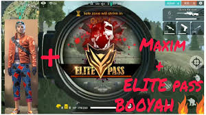 Free fire : Play with Elite pass