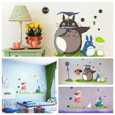 Anime Totoro Wall Sticker Art Decal Kids Bedroom Nursery Home Mural Art Decor 2 17 Picclick