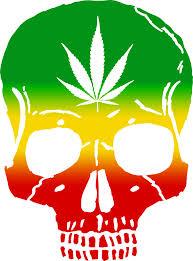 rasta skull cans rastafarian weed