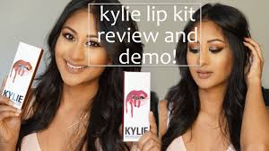 kylie lip kit review and lip swatches