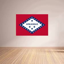 Arkansas State Flag Vinyl Wall Decal The Decal Bros