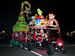 santa s lighted golf cart parade dec 5 2019