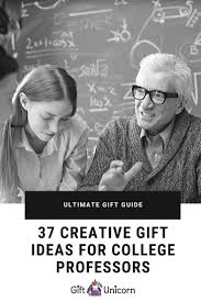 gift ideas for college professors