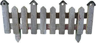 Amazon Com Barnwood Decor Barnwood Small Picket Fence With Birdhouse Tips Amish Country Handcrafted Barn Wood Small Picket Fence W Bird House Design On Tips Approximately Measures 12 X 31