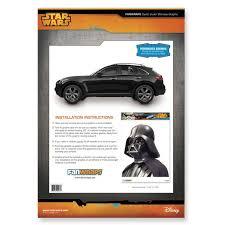 Star Wars Fanwraps Darth Vader Window Wrap Passenger Series Brian S Toys