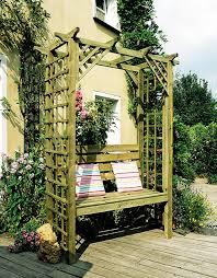 english cottage garden arbor