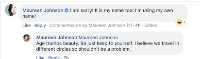 """Maureen Johnson on Twitter: """"There shall be only one Maureen ..."""