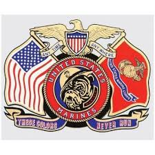 United States Marines These Colors Never Run Decal Devil Dog Depot