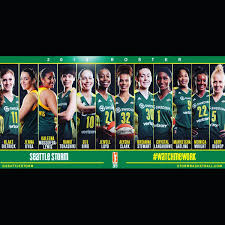 A Tiger is on the Seattle Storm roster ...