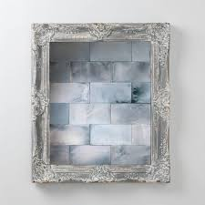 antiqued mirror tiles hand crafted