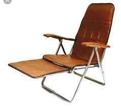 italian faux leather folding recliner
