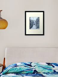 Chair Lift Framed Art Print By Leos0910 Redbubble