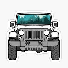 Jeep Girl Stickers Redbubble