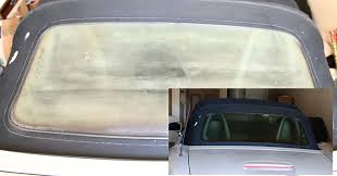 this diy car window cleaning solution