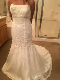 new and used wedding dress in