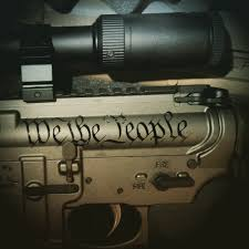 We The People Decal Hydragrips