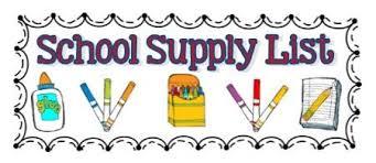 2019-20 School Supply Lists – Monroe Central School Corporation