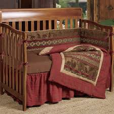 baby cascade lodge bedding western passion