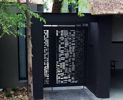 It S All About Nature Lasercut Design Fence Design Corten Steel