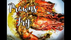 cooking giant tiger prawns giant
