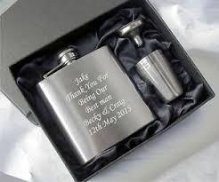 end hip flask usher gifts best