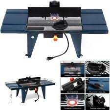 Craftsman Router Table Adjustable Extended Fence Woodworking Tool For Sale Online Ebay